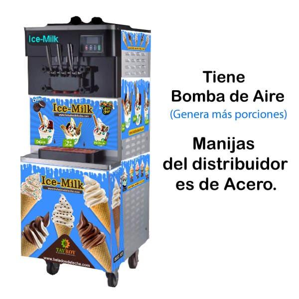 Máquina para helados