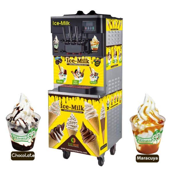 Máquinas de helados soft