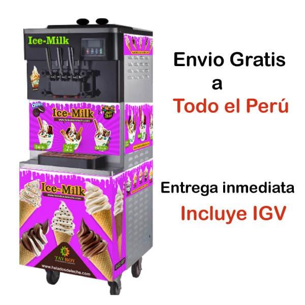 Máquina para helados soft