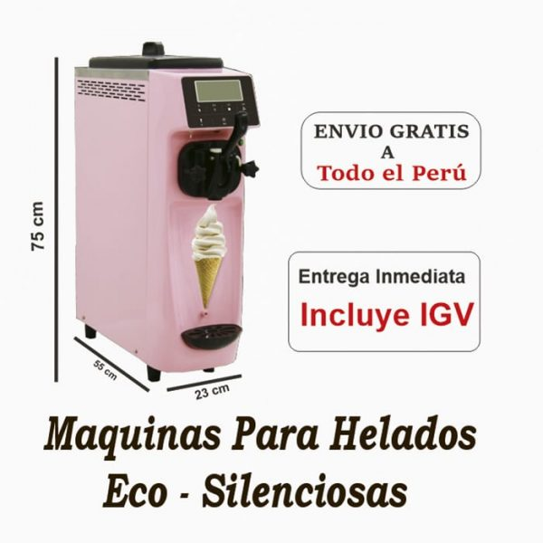 Pitufina Rosada - maquina para helados de crema