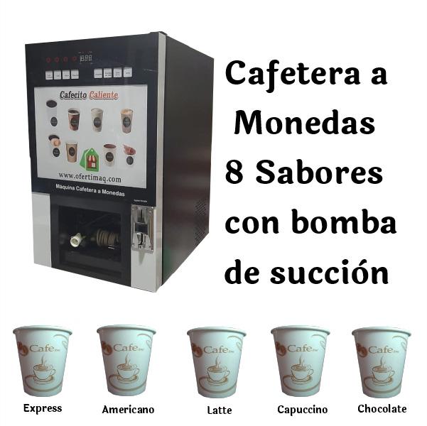 Cafetera a Monedas